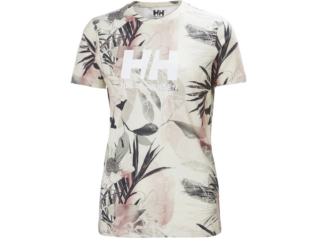 Helly Hansen HH Logo T-Shirt Women, roze/grijs